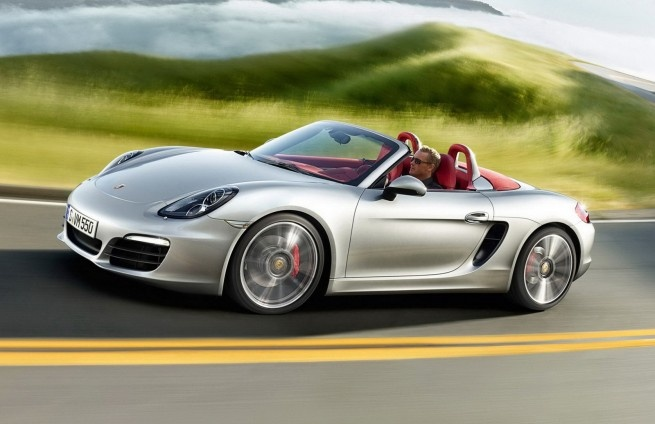 Don't be afraid, it's just a little SpyderPorsche Boxster