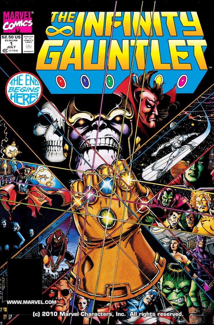 Infinity Gauntlet 01 (of 06) (1991) …………… | Viewcomic reading comics online for free