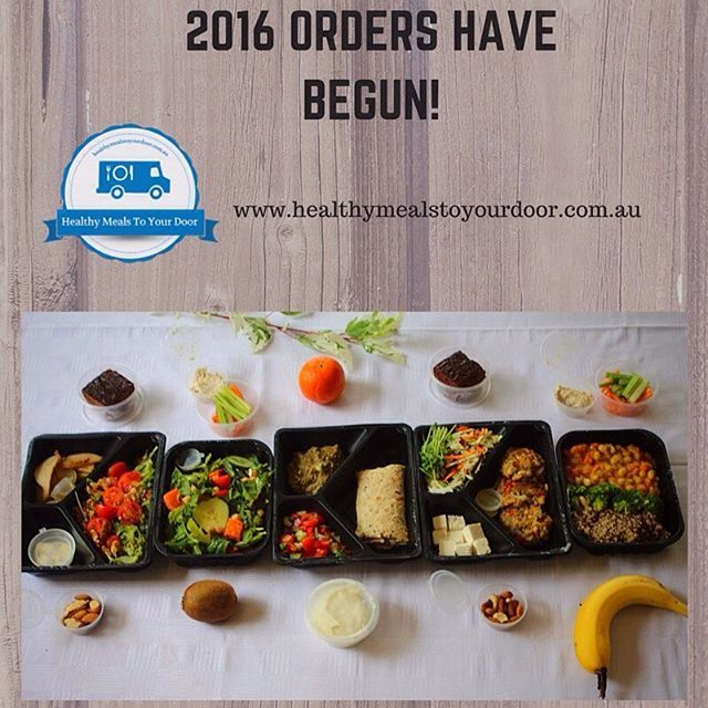 We are already into our second week of orders for 2016!  If you've been thinking about ordering there's no better time to do it than this week. Order by 5pm this Wednesday to have your healthy meals delivered to your door on Tuesday the 26th Jan!    #bris