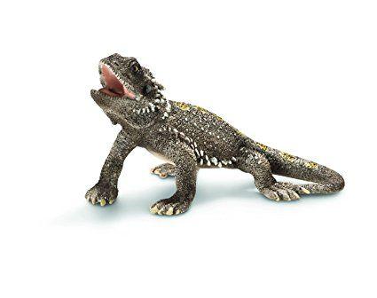 Schleich Pogona Lizard Toy Figure