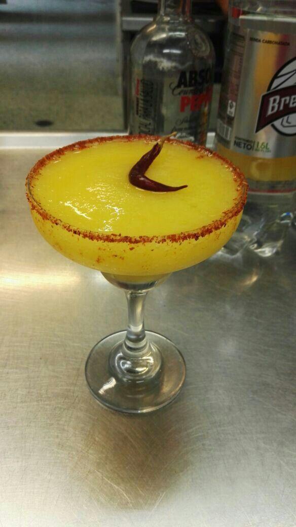 Coctel mango hot