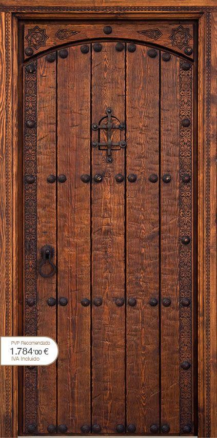 Puertas r sticas alpujarre as artesanos de la puerta for Catalogo de puertas de madera para exteriores