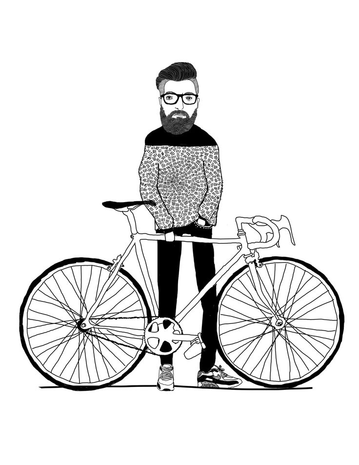 Mi amigo Mike y su bici