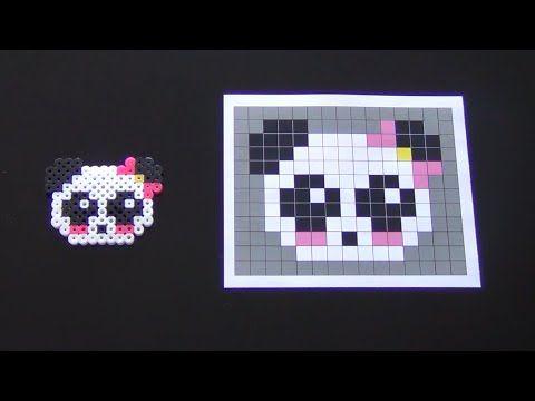 perler bead panda - Google Search
