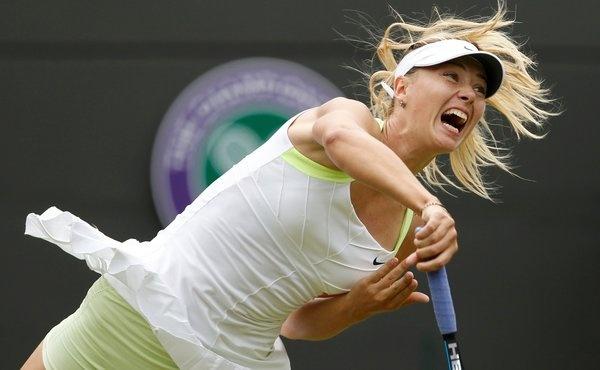 Learn tennis youtube sharapova