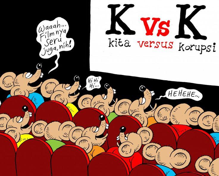 Mice Cartoon, Juni 2012: K vs K