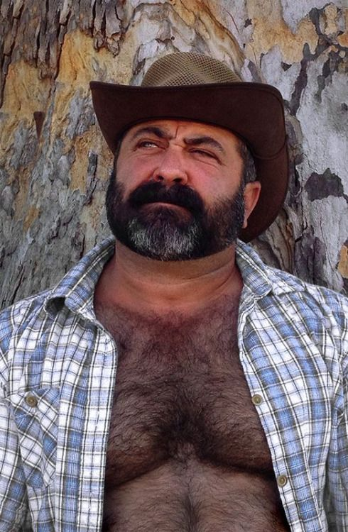 Pin by Mike Werness on Hirsute  Bear men Hairy men