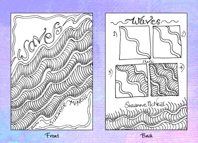 Shoshiplatypus: Zentangle Album Continued
