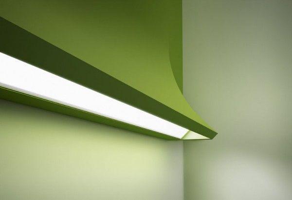 Luminarias con formas complejas