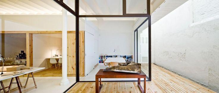 @RoomGlobal  Unfinished, minimal but warm Multidisciplinary Design Studio / Josep Ferrando + Román Ortega (3)