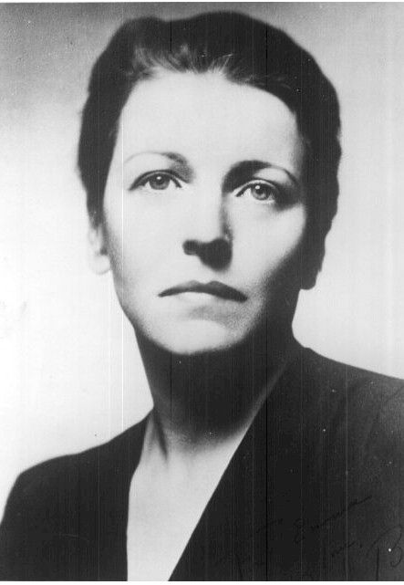 Pearl S. Buck - First American woman to win the Nobel Prize for Literature, photo uncredited