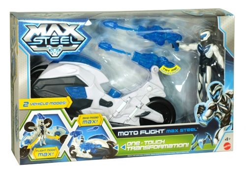Max steel moto flight bike with figure