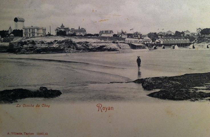 La Conche du Chay dans les années 1900 - Royan