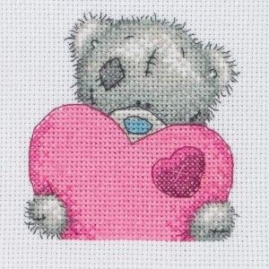 Big Heart - Me To You - Tatty Teddy - counted cross stitch kit Coats Crafts