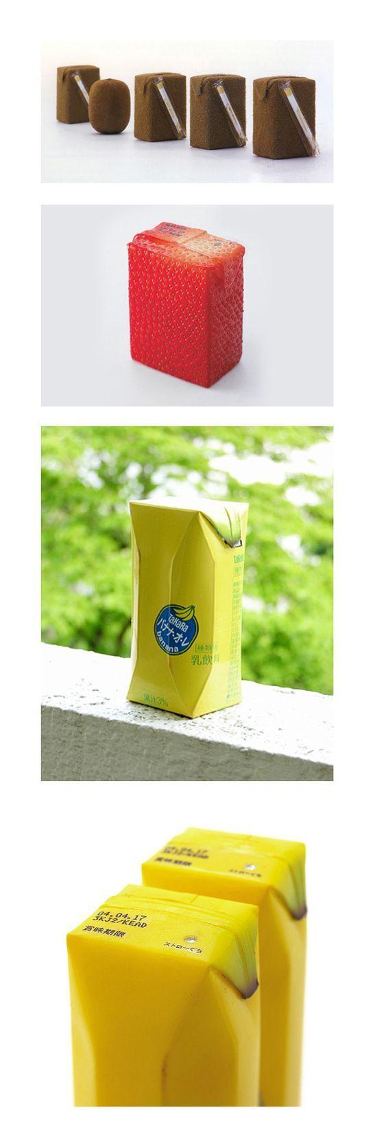 Juice skin by Naoto Fukasawa / Best packaging ever !