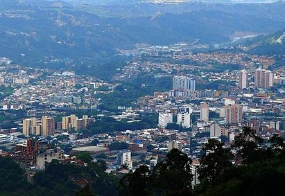 Bucaramanga, Colombia - The city of parks