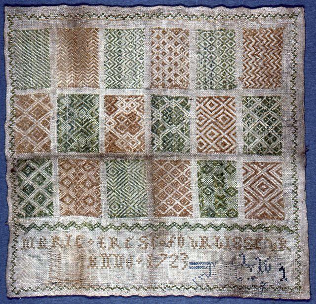 Sampler (Belgium), 1723