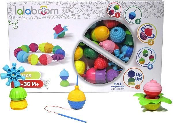 36PCS Lalaboom Beads and Accessories