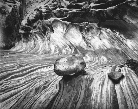 Boulder and Metamorphose Wave, Capital Reef National ParkBarnbaum, Bruce1987/1988
