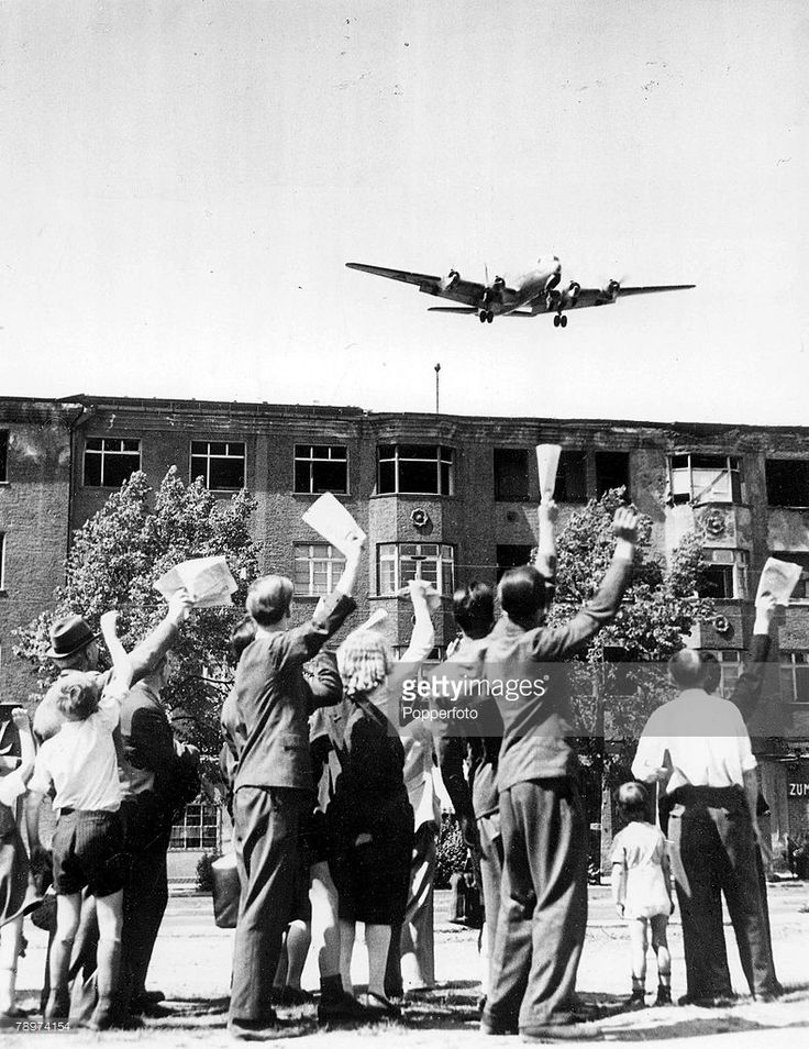 berlin airlift Seventy years ago, the soviet union blockaded all supply routes to west berlin in the city's time of need, the western powers embarked on a historic rescue mission: an airlift for its more than 2 million inhabitants.