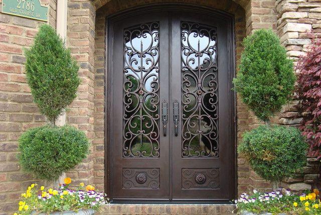 Front Door Security Gate Hardware Knobs Knockers