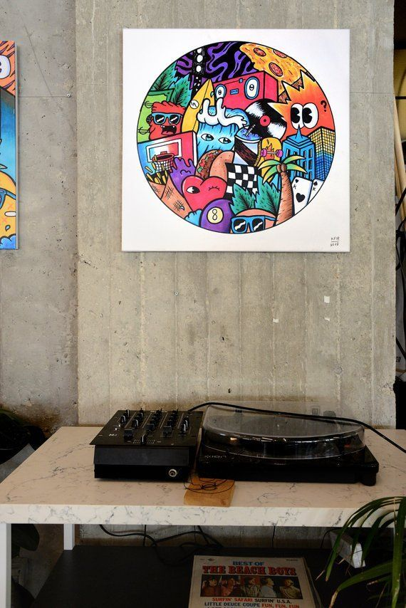 Extra Large Wall Art Pop Canvas