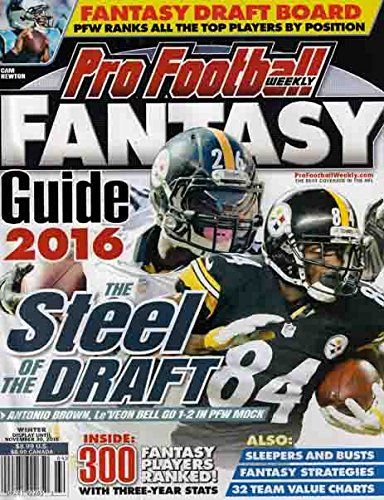 #manythings This auction is for the #WEEKLY, 2016 ISSUE OF PRO #FOOTBALL WEEKLY FANTASY FOOTBALL GUIDE, 2016 The magazine is fresh, We'll pick the best available ...