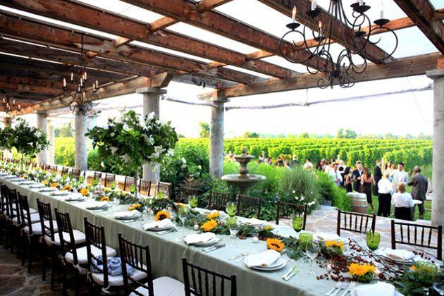 Wolffer Estate Vineyard Hamptons Wedding Venues