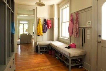19th Century Farmhouse Renovation; updated photos by Mick Hales - farmhouse - entry - new york - KATE JOHNS AIA