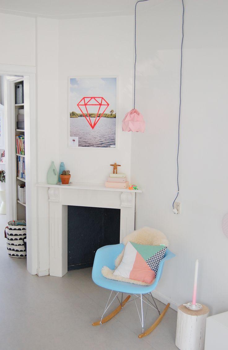 Lampe En Papier Origami Rose Design Pinterest