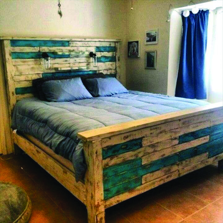 Advanced Pallet Furniture Johannesburg That Will Impress You Pallet Bed Frames Pallet Furniture Bed Bed Made From Pallets