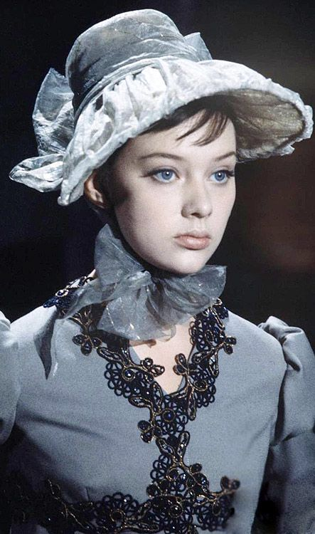 """War and Peace"" (1965-1967).Russian actress Savelieva."