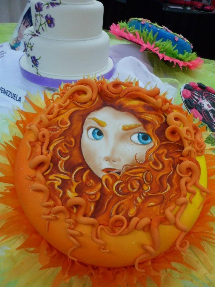 Merida cake
