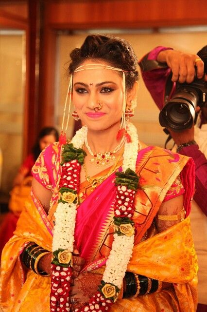 Beautiful marathi bride
