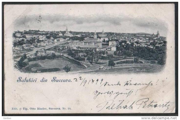Suceava - Salutari - 1899