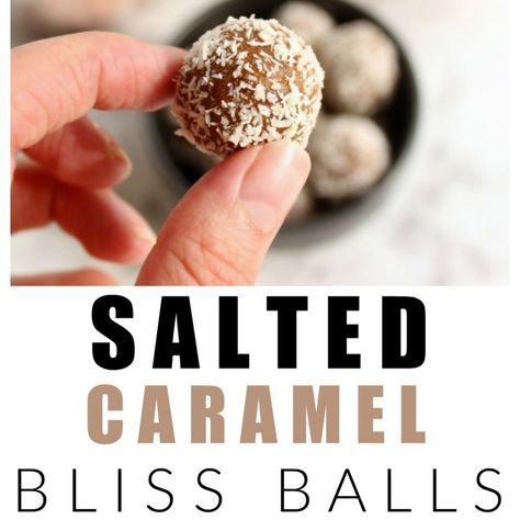 These salted caramel bliss balls are healthy, refined sugar free, dairy free and just as delicious as the real-deal salted caramel.