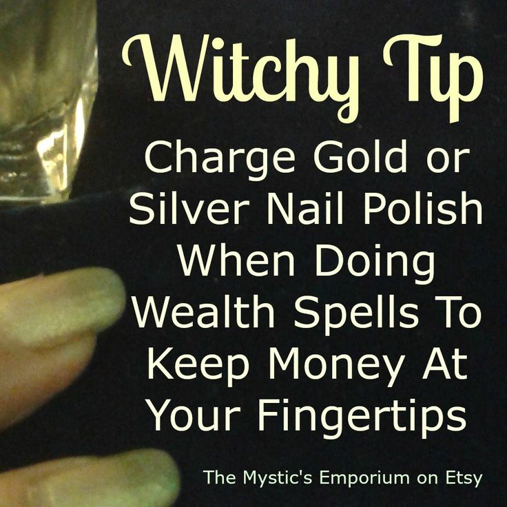 Witchy Tip - Wealth - Prosperity - Money Spell - Browse unique items from TheMysticsEmporium on Etsy