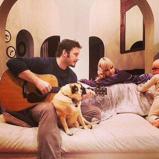 Anna Faris and Chris Pratt's adorable family photo couldn't be cuter!