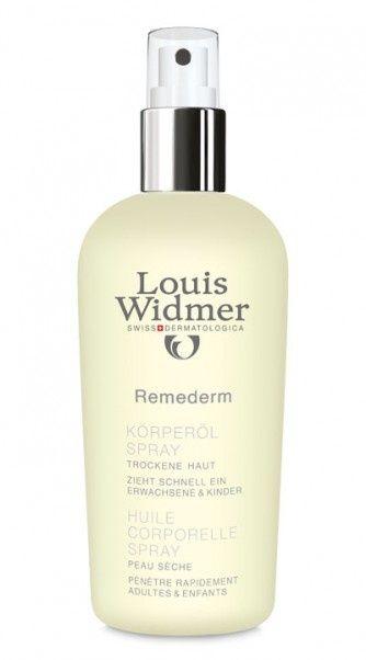 Rendete il vostro corpo pronto per il sole con Louis Widmer Remederm Olio Corpo!