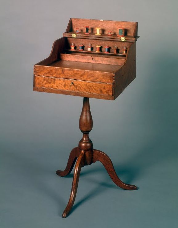 Shaker Deaconesses sewing desk of rare form, Probably Union Village, Ohio, circa 1840#Repin By:Pinterest++ for iPad#