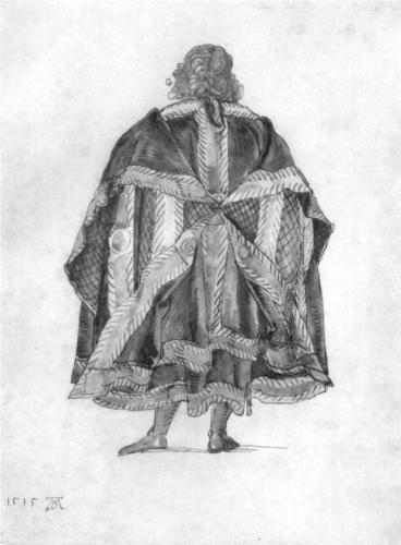 Design to a court dress - Albrecht Durer
