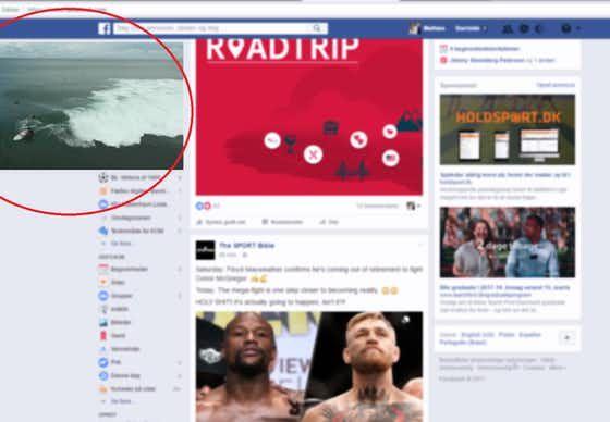 Facebooks flydende videoer