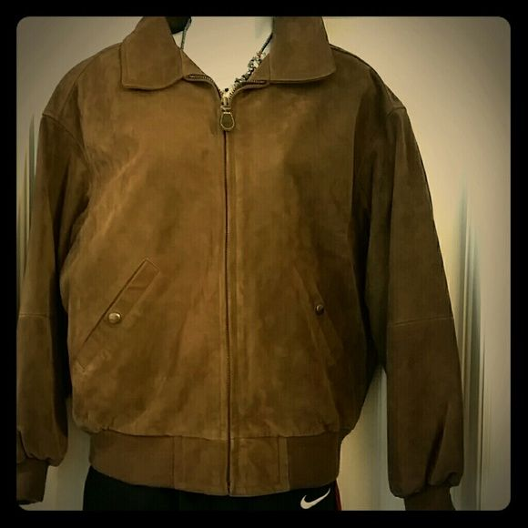 Timberland  leather  jacket #7 Waterproof  cowhide suede leather jacket,zipper front to close.warm and cozy . waterproof Timberland Jackets & Coats