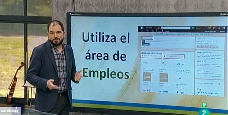Hablando sobre cómo encontrar trabajo en LinkedIn en A punto con La 2