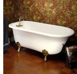 nice old bathtub