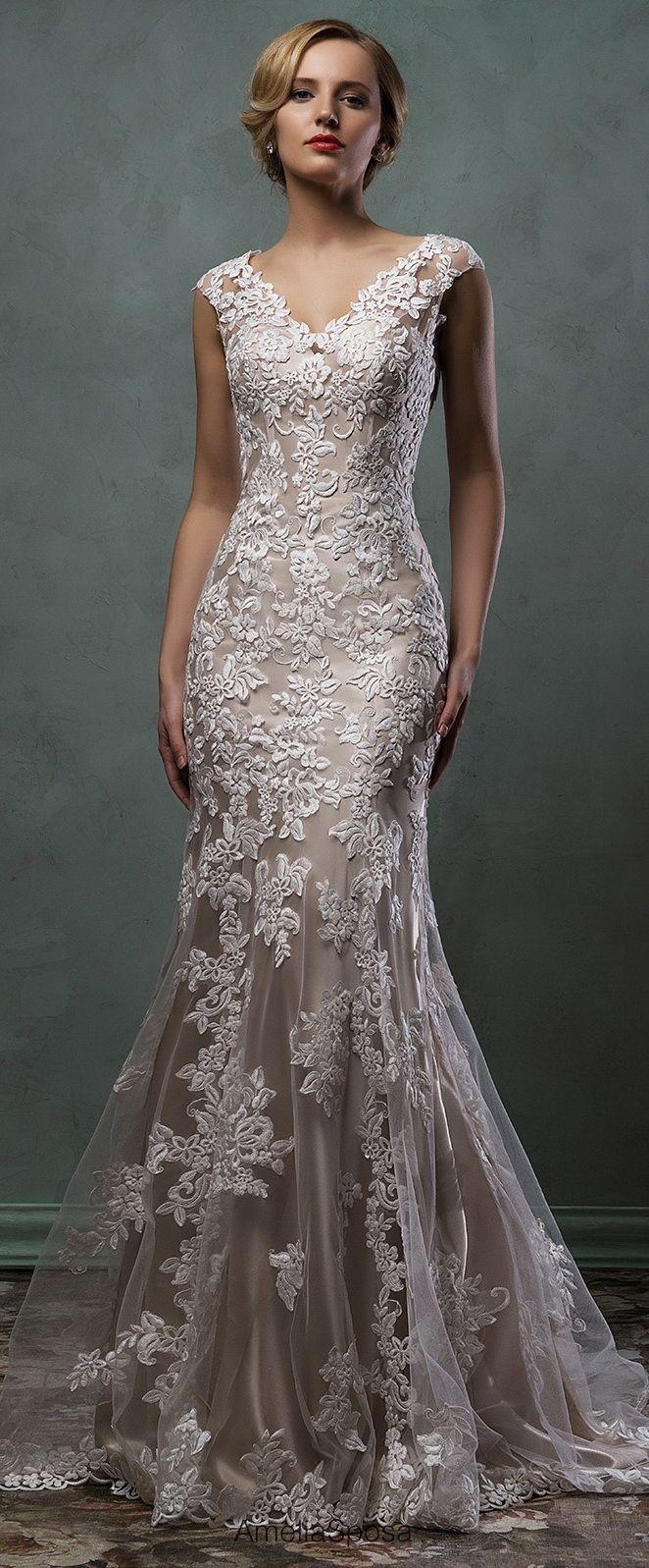 Amelia Sposa lace wedding dress 2016