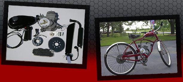 Bike Motor Kit :: Motorized Bikes, Bike Engine Kits, Gas Bike Kits, Bicycle Engines and Kits,bicycle engine kit parts