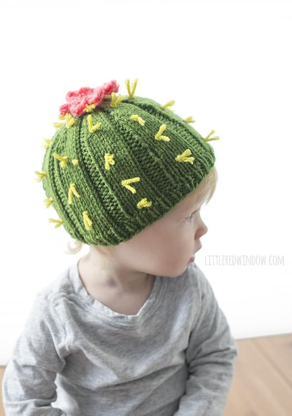Cuddly Cactus Hat Knitting Pattern for newborns efd838cd4244