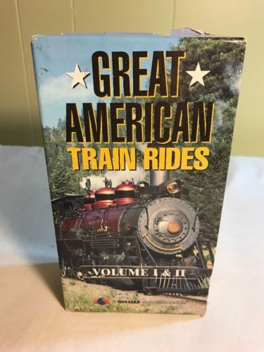 Great American Train Rides Volume I Vhs Rocky Mountains Sierra Nevada Railroads Books Pinterest Tapes And