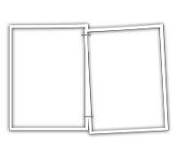 Lenagold - Клипарт - Черные и белые рамки 2